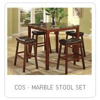 COS - MARBLE STOOL SET